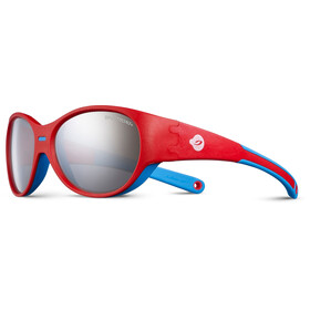 Julbo Puzzle Spectron 3+ Sunglasses Kids 3-5Y Red/Blue-Gray Flash Silver